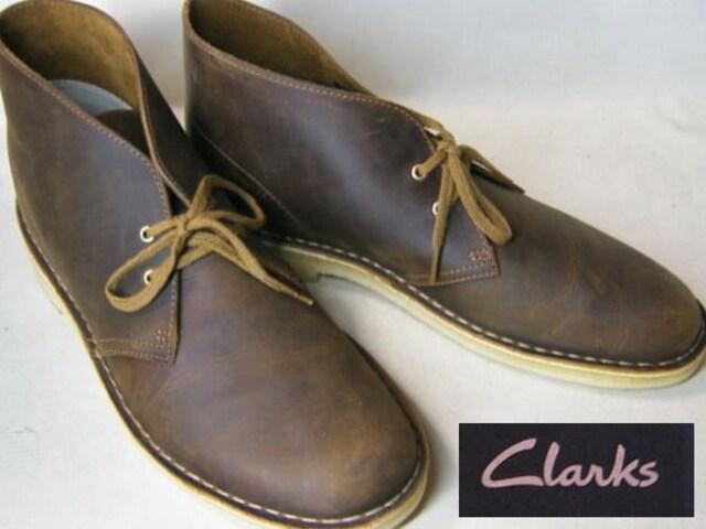 クラークスCLARKS新品デザートブーツ26106562ブラウンus12  < 男性ファッションの