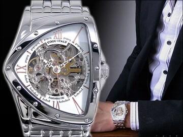 コグフルスケルトン自動巻腕時計 BS0TM-WRG