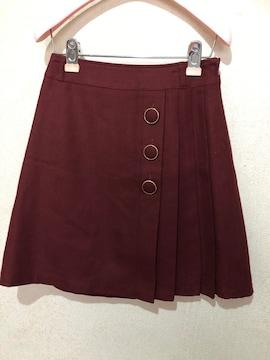 ファビュラスサイドプリーツスカート 送料180円
