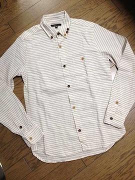 美品CIAO PANIC デザインボーダーシャツ チャオパニック