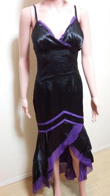 新品タグ付ageha☆背編みバイカラー脚魅せドレス  ☆3点で即落☆  < 女性ファッションの
