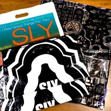 レア SLY スライ ショッパー 4枚セット / ショップ袋