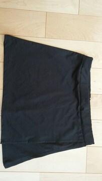 ランニングスカート ヨガ 黒 M〜L