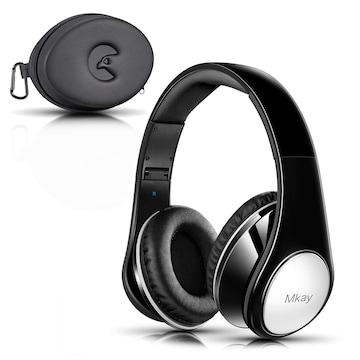 密閉型 Bluetooth ヘッドホン 高音質 ブラック