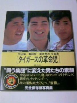 初版本 タイガースの革命児/中込 亀山 新庄 阪神タイガースプロ野球写真集