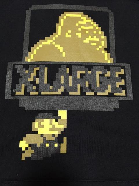 XLARGE×SUPER MARIO エクストララージ スーパーマリオ パーカー < ブランドの