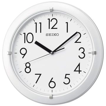 セイコー クロック 掛け時計 アナログ 白 パール KX621W
