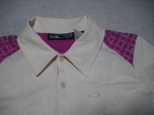 女 OAKLEY オークリー 半袖ポロシャツ XS < ブランドの