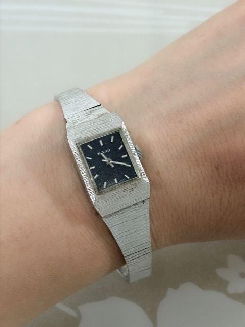 T124 RADO ラドー 手巻き レディース 腕時計 可動品 スイス製  < ブランドの