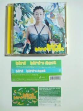 (CD)bird/バード☆bird's nestベスト盤帯、ステッカー付き即決アリ