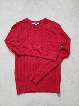 UNIQLO ユニクロ ケーブル編み カシミア混 ニット セーター S