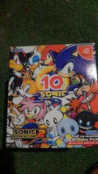 Dreamcastソフト ソニックアドベンチャー2 限定版