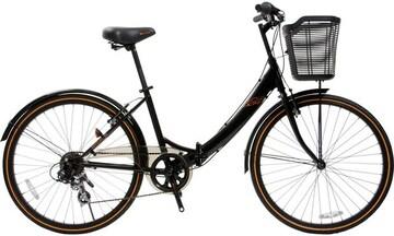 新品 折り畳み式自転車 26インチ