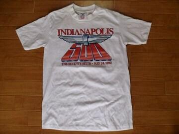 USA製 ヴィンテージ 92年 インディ500 Tシャツ S
