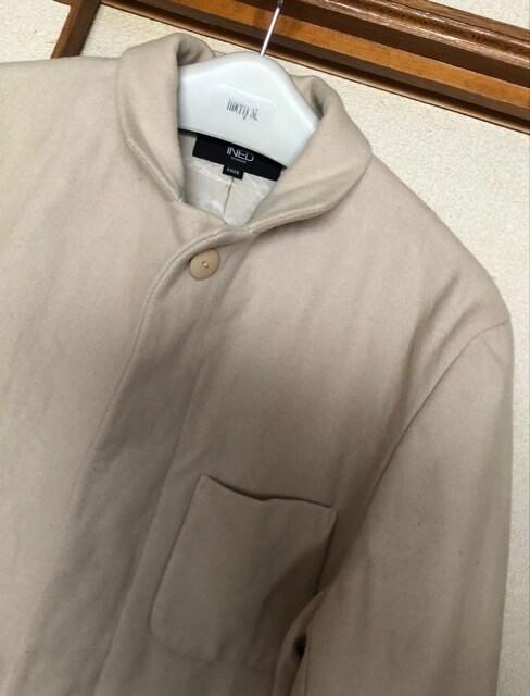 イネド☆ベージュのコート 送料600円 < ブランドの