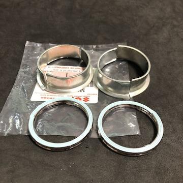 GS400 マフラーフランジ 割カラー&ガスケット新品 GS400E GS425