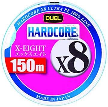 デュエル(DUEL) ライン(PE): HARDCORE X8 150m 0.6号 W: ホワイ