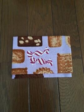 クッキー柄・フタ付きティッシュケース・ハンドメイド