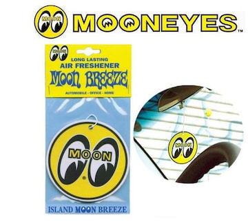 【送料無料】ムーンアイズ 芳香剤 エアフレッシュナー MOON/YE
