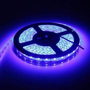 LEDテープ 防水 24V 5m 300連SMD5050 ブルー