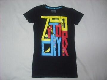 wr486 女 ZOO YORK ズーヨーク 黒 半袖Tシャツ Sサイズ ★