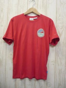 即決☆コロンビア 特価 グレイシャーズTシャツ RED/L  新品