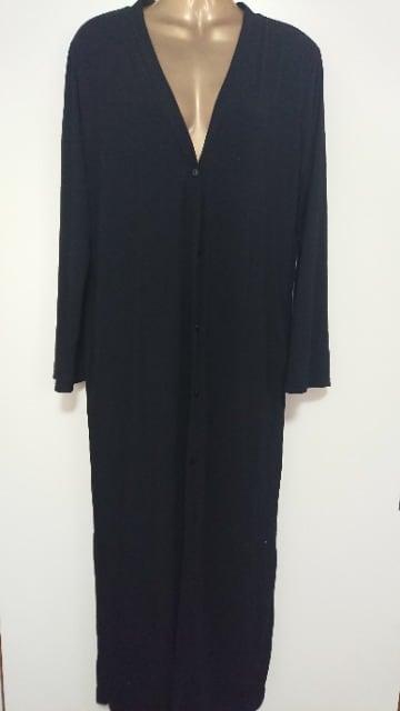 リエディReEdit黒ロングカーディガンM  < 女性ファッションの
