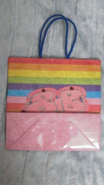 必見安田くん「818」公式可愛いショッピングバック美品オマケ < タレントグッズの
