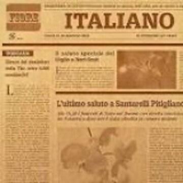 【フジパック】 イタリア 新聞紙柄 包装紙 ラッピング 100枚 お