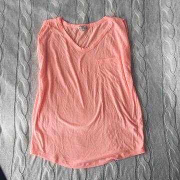 GAP 美品 ネオンカラー カットソー ノースリーブ Tシャツ