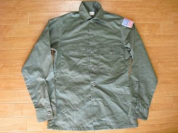アメリカ軍 77年 ミリタリーシャツ Sサイズ