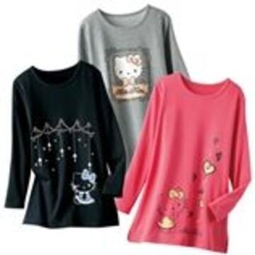 ◆新品◆ハローキティ◆プルオーバー◆ピンク◆M◆3,980円