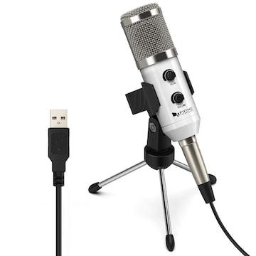 USBマイク コンデンサーマイク PCマイク エコー機能