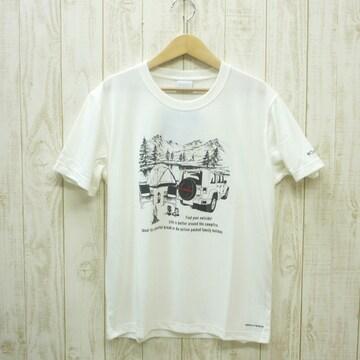 即決☆コロンビア特価CAMP半袖TシャツWHT/Lサイズ (XL ) リラックスフィット