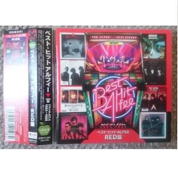 KF THE ALFEE アルフィ ベスト・ヒット ALFEE RED盤