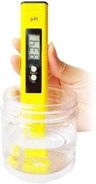 デジタル PH計 PHメーター ペーハー測定器 熱帯魚飼育 水耕農業