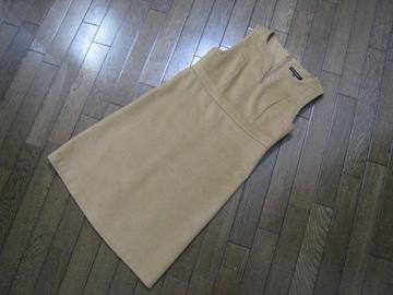 ○Mプルミエ○ノースリーブワンピース ジャンパースカート 34