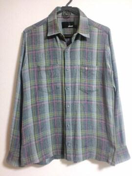 glamb チェックネルシャツ グラム Lodge 古谷完 2 M