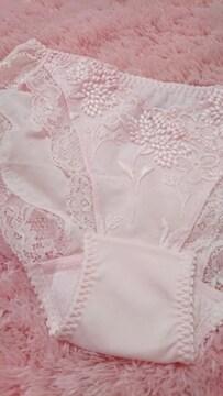 ☆.。.*トリンプ pink 刺繍ぱんてぃ*.。.☆
