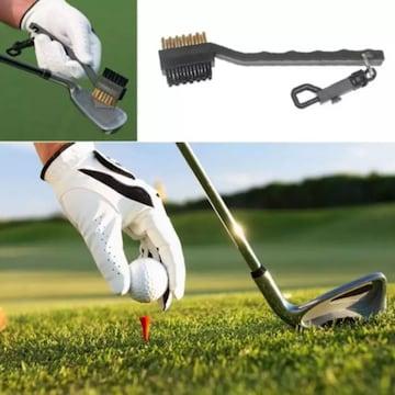 ☆ゴルフ ナイロン & ワイヤーブラシ 真鍮ブラシ