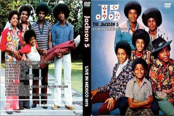 ≪送料無料≫JACKSON 5 LIVE IN MEXICO 1975 マイケルジャクソン