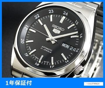 新品 即買い■セイコー セイコー5 5 自動巻き 腕時計 SNK567J1