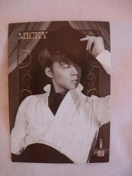 東方神起スターコレクションカード ミッキーMI017ノーマル