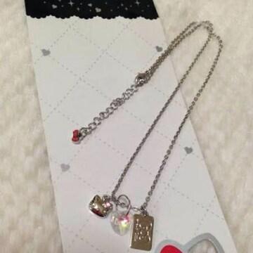 定価1050円 ハローキティ シルバーカラー ドックタグ ネックレス