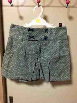 ドット柄ショートパンツ☆