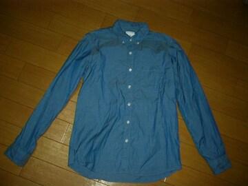 uniform experimentシャンブレー系シャツ1ソフネットSOPHNET.
