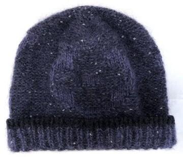 新品同様正規ルイヴィトン帽子ニット帽モヘアボネパープ