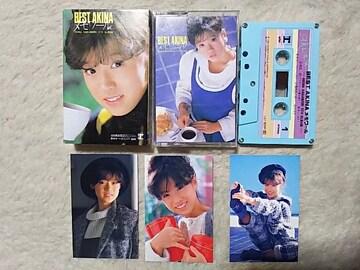 カセットテープ 中森明菜 '83/12 ベストアルバム 全12曲 セカンドラブ 禁区