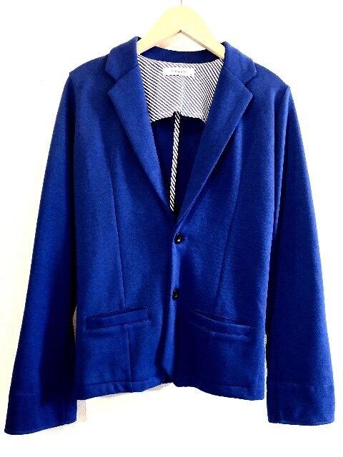 GLENMIST■テーラードジャケット■スウェット■グレンミスト■青  < 男性ファッションの