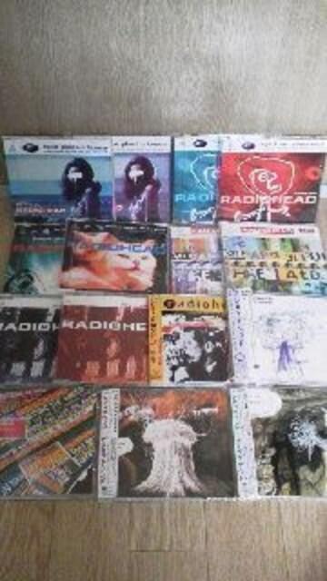RADIOHEADレディオヘッド☆シングル15枚セット送料込  < CD/DVD/ビデオの